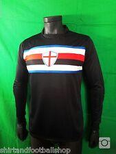 FOOTEX Maglia Portiere Sampdoria Colore Nero Personalizzabile Con Nome e Numero