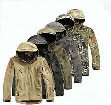 ESDY Men Outdoor Jacket Waterproof TAD Coat Shark Skin Soft Shell Hoodie Hunting