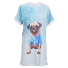 Christmas Shop - Camisón con diseño de perro para mujer (RW5047)