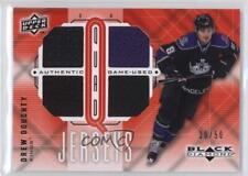 2009 Upper Deck Black Diamond Quad Jerseys Ruby #QJ-DD Drew Doughty Hockey Card
