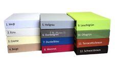 Draps Drap Housse Drap-Housse Drap 100% Jersey Coton 12 Div.farben