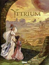 Yttrium.Les Chants cosmiques.MAKYO / DE LUCA.Glenat  Z006