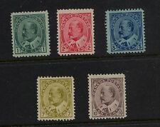 Canada  89-93  Mint  nice lot     catalog $925.00  RL1204-22