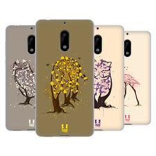 HEAD CASE DESIGNS WILDLIFE IN BLOOM SOFT GEL CASE FOR NOKIA PHONES 1