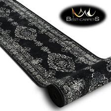 Impresionante Elegante Recibidor Corredor Vintage Roseta Crema Negro Ancho 80cm