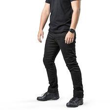 Draggin Jeans Mens Twista Black Motorcycle DuPont™ Kevlar® Riding Pants