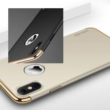 De Lujo ultrafino a prueba de impactos Híbrido 360 Estuche Cubierta para Apple iPhone 8 7 6S Plus X