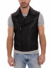 New Men's Leather Jacket Genuine Lambskin Leather Motor fit Biker M Coat #SAB249