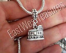 Rome Italy Italian travel Roman Colosseum Bracelet Charm pendant -European