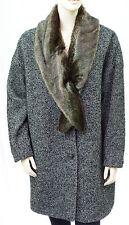 I.CODE by IKKS Manteau Tweed femme lainage taille 42