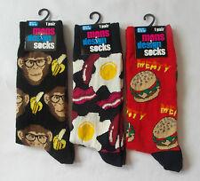 Men's - Funny/Comic Design Socks Size UK 6-11