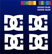 4 x Stickers Vinilo - DC - Pegatinas Vinyl Aufkleber Adhesivi Skate Surf Snow