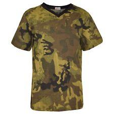 Niño Verde Diseñador 100% Algodón Liso Camiseta Ringspun Camisetas 2-13