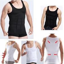 Mens Body Shaper Slimming Shirt Full Shapewear Waist Cincher Girdle Corset Vest