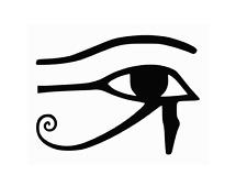 Eye of Wedjet Ra Horus All Seeing Eye Vinyl Decal Car Wall Window Sticker CHOOSE