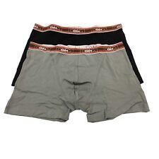 DIM boxer uomo bipack grigio/nero linea COTON STRETCH 96%cotone 4%elastan