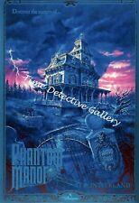 Disneyland Paris Phantom Manor Attraction - Poster in 5 Sizes