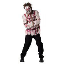 Scary Clown Costume Adult Halloween Fancy Dress