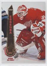 1994-95 Pinnacle #428 Bob Essensa Detroit Red Wings Hockey Card