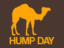 Brand New HUMP DAY TSHIRT Mens Womens Kids CAMEL SM-5XL