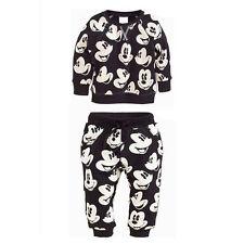 2pcs Mickey Baby Boys Long Sleeve Suit Cotton Tops+Pants Kids Sport Clothes Sets