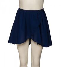 Girls Ladies Navy Blue Dance Ballet Georgette Wrap Over By Katz Dancewear KDGS01