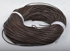 braun LEDERBAND Rund Lederbänder Lederhalsband Für SCHMUCK ca.1/1,5/2/2.5/3/4mm