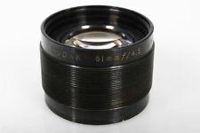 Kodak 81mm f/4.5 Printing Ektar-like Lens