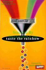 Skittles: Taste the Rainbow: Funnel: Great Print Ad!