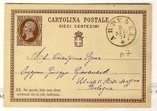 8196- Toscana, Ardena su Cartolina Postale 10 cent.,1877