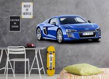 3D Audi S011 Car Wallpaper Mural Poster Transport Wall Stickers Sunday