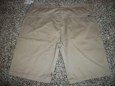 VOLCOM STONE New NWT Mens Casual Chino Frickin Modern Fit Shorts Khaki Beige