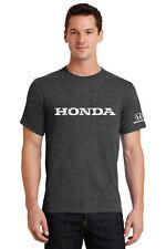 Honda Grey Vintage Logo Tee