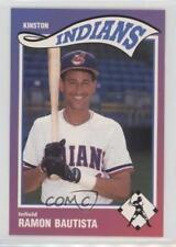 1990 Sportsprint Kinston Indians #16 Ramon Bautista Rookie Baseball Card