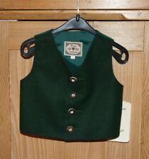 Kidstracht  Gilet / Lodenweste tanne grün Gr 62 - 74 Taufanzug Turi Taufe Baby