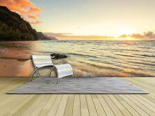 3D Beach Sunset landscape wall Paper Print Decal Wall Murals AJ WALLPAPER GB