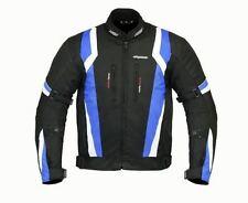 RKSports 1509 MENS BLUE TEXTILE MOTORBIKE MOTORCYCLE JACKET