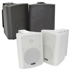 """5.25"""" 2 Voies Stéréo Compact HiFi Haut-parleurs 90 W Paire Home Mini Support Mural ABS"""