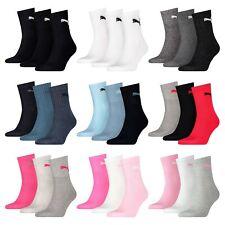 PUMA Short Crew unisex breve Sportive da Uomo Socks Calze da uomo 3er 6er 9er 12er