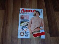 ANNA 8/1985 -- LEHRGANG: HÄKELSPITZEN/DOPPELDURCHBRUCH