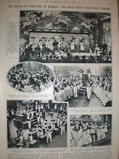 Photo article Irish Hospitals Sweepstake Dublin Ireland 1932