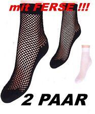 2 PARES NET - Calcetines con REFORZADO TACÓN Microfibra negro o blanco