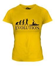 KAYAK EVOLUTION OF MAN LADIES T-SHIRT TEE TOP GIFT CLOTHING KAYAKING