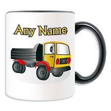 Personalised Gift Dumper Truck Mug Money Box Dump Heavy Vehicle Cup Tea Coffee