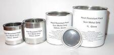 GUN METAL GREY Gloss Heat Resist Paint Brake Caliper Engine Metal Body Steel