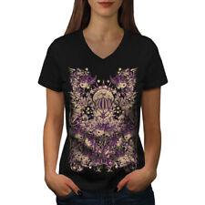 Guerra Inc. Zombie de Moda para Mujer cuello en V wellcoda Camiseta Nuevo |