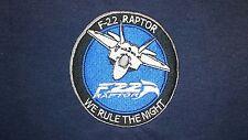 USAF Air Force Estados Unidos F-22 Raptor Con Capucha