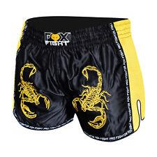fox-fight Scorpion MMA lutte Pantalon Shorts Muay Thai Kickboxing arts martiaux