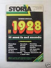 STORIA NUMERO SPECIALE IL1928 N.247 GIUGNO 1978