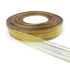 Buddly artesanía 18mm Metálico Malla Stripe Cinta - 3m